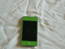 Apple iPod Touch 4th Gen A1367 EMC 2407 32gb Black #dn4j with a green screen