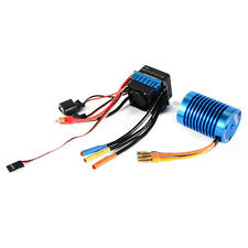Motor 3650 4370KV 4P Slot Sensorless Brushless 45A Electric Speed Control RC505