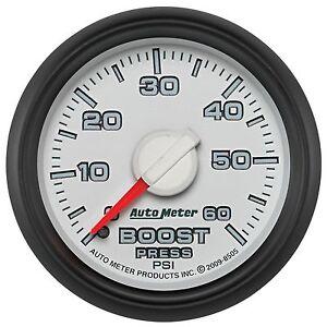 AutoMeter 8505 Factory Match Mechanical Boost Gauge Fits 03-09 Ram 2500 Ram 3500