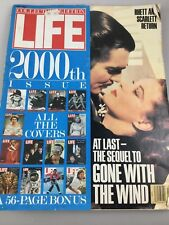 LIFE MAGAZINE 2,000TH ISSUE - COLLECTORS EDITION - GONE WITH THE WIND ++++ 1988