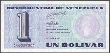 TWN - VENEZUELA 68 - 1 Bolivar 5/10/1989 UNC Prefix C