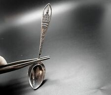 "New Orleans Louisanna St. Louis Cathedral Sterling 4"" Souvenir Spoon"