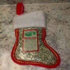 100% Real Shredded Cash Money Christmas Stocking With $500 Value Gag Prank Gift