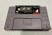 SNES Super Nintendo William's Arcade Greatest Hits Joust Defender II Sinistar