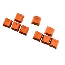 9pcs PBT Keys Backlit Translucent Keycaps For Cherry MX Mechanical Keyboard