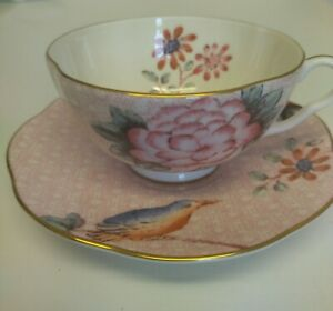 Wedgwood bone china Cuckoo Tea Story cup and saucer