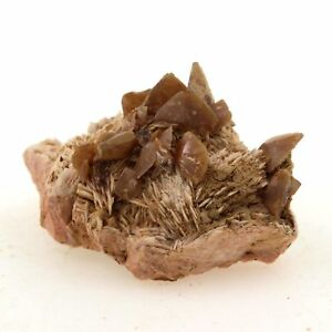Wulfenite + Barium 36.3 Ct. Lantignié, France Rare
