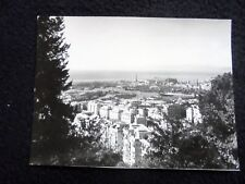 LOVELY OLD REAL (PRESS) PHOTO: GENUA~GENOVA~1950's~OVERVIEW