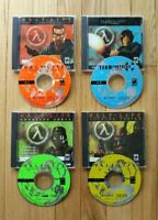 Half Life Collection Team Fortress Opposing Force Counter Strike 4 Discs PC 4 Cd