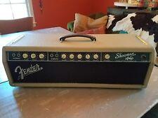 1961 FENDER SHOWMAN AMP HEAD BLONDE BROWNFACE VINTAGE