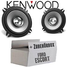Kenwood Lautsprecher für Ford Escort Turnier Cabrio Boxen 13cm Koax Auto hinten