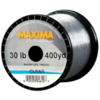 Maxima Clear Monofilament Guide Spool 300 - 600 Yards Premium Monofilament Line
