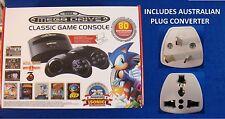 Sega Mega Drive Classic Game Console +AUS PLUG +80 Games +2 Wireless Controllers