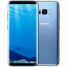 Samsung Galaxy S8 G950F/DS BLUE 64GB (FACTORY UNLOCKED) SMARTPHONE BRAND NEW