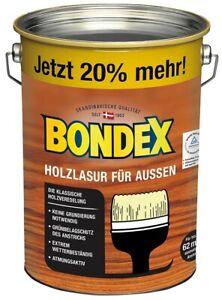 Bondex Holzlasur für Außen Wetter- & UV-beständigkeit Lasur