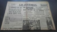 Newspapers The Journal N°17073 Wednesday 19 July 1939 ABE