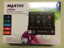 "Maxtek visión Bluetooth estéreo de coche con pantalla 7"" Levante Multimedia + Control Remoto"