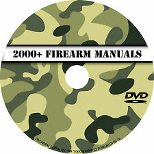 2000+ Firearm Manuals DVD Rifle Carbine Pistol Shotgun Revolver Gun pdf CD Disc