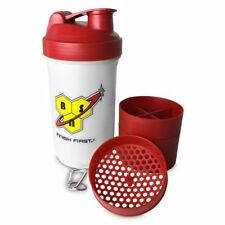 BSN Gym Sports Protein Powder Shaker Bottle 600ml BPA free with Compartment