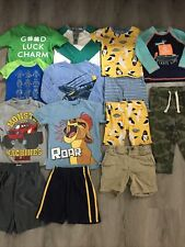 Toddler Boys Clothing Lot, 14 Items, 2T, Blaze, Lion King, Carter's, Old Navy