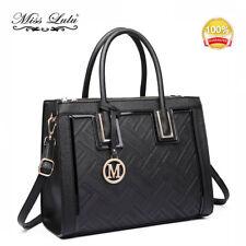 Ladies DESIGNER Long Handle Tote Shoulder Handbag Reversible PU Leather Bag Lt6622 Nude