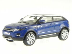 Range Rover Evoque 3-Türer 2011 baltic blue diecast model car MOC142 IXO 1/43