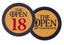 2018 OFFICIAL (Carnoustie) British Open (Yellow/Navy) POKER CHIP