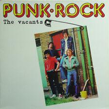 "British Garage Punk THE VACANTS ""Punk.Rock"" LP RE No Label EUROPE PRESSING NM"