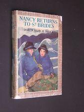 NANCY RETURNS TO ST. BRIDES. FAIRLIE BRUCE. 1946 HARDBACK GIRLS SCHOOL STORY