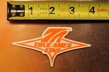 True Ames Fins Longboard Surfboards Rainbow Fin Bahne V9 Vintage Surfing Sticker