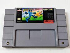 Mega Man Soccer for Super Nintendo SNES System Megaman *TESTED & AUTHENTIC*