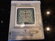 "It's Polite to Point Needlepoint Kit Spring Floral Smithsonian 12"" x 12"" - NIP"