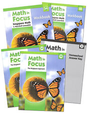 Grade 3 Math in Focus Homeschool Kit Semester 1 2 Singapore 3rd Curriculum 2009