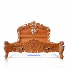 European size 100x200cm Natural French style Rococo bed ~  FREE delivery to EU