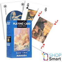 THE ART OF MANARA PLAYING CARDS 54 ILLUSTRATED DECK COLLECTION LO SCARABEO NEW