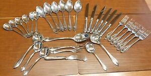 Silberbesteck ROBBE & BERKING Navette  33 tlg. aus 800er massiven Silber