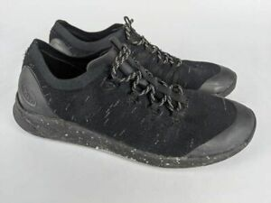 Chaco Womens Scion Hiking Shoes Black J106766 Low Top Lace Up 9.5 M
