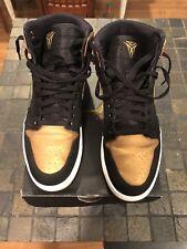 Nike Air Jordan 1 High Melo  Sz 12 Black/Gold  332550-026 Hi Bred Red Retro