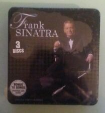 FRANK SINATRA collector's edition CD / DVD NEW  tin little dings/scratches