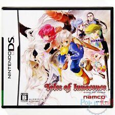 Jeu Tales of Innocence [JAP] sur Nintendo DS NEUF sous Blister