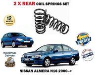 für Nissan Almera N16 1.5 1.8 2.2 Di dCi 2000- > NEU 2 x Fahrwerksfeder Hinten