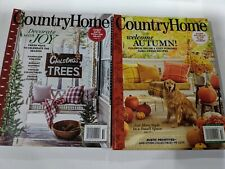 Country Home Autumn Fall & Christmas Winter 2020 Magazines
