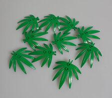 LEGO® Town Classic Stadt Zubehör 10x Grünzeug Palmen Blätter grün Leaves 30239