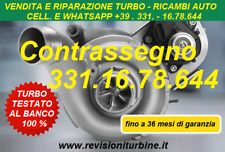 TURBINA REVISIONATA BMW 320D 163CV E90 E91 E92 E93 TF035 SERV.DI REV. TURBO