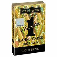 Waddingtons No 1 Gold Playing Cards