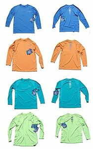 BIMINI BAY OUTFITTERS LS CABO CREW UPF Fishing Shirt NWT many colors & sizes