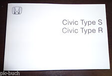 Manual de instruções Honda Civic 8. Generation Type S / Type R  2008