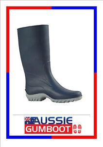 """Womens Gumboots """"Giulia"""" Wellies Ladies Gum Boots Navy Size Australian 1-10"""