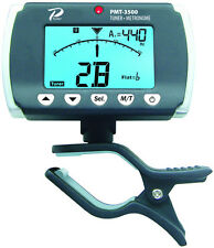 Profile Clip-on Electric or Acoustic Guitar Bass Tuner & Metronome PMT-3500