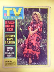 TV SORRISI E CANZONI. IVA ZANICCHI. JANE FONDA. ST. TROPEZ 1967